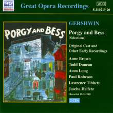 George Gershwin (1898-1937): Porgy and Bess (Ausz.), 2 CDs