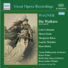 Richard Wagner (1813-1883): Die Walküre (1.& 2.Aufzug), 2 CDs