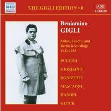 Benjamino Gigli- Edition Vol.8, CD