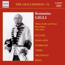 Benjamino Gigli- Edition Vol.11, CD