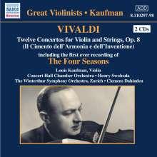 Louis Kaufman spielt Vivaldi, 2 CDs