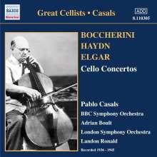 Pablo Casals spielt Cellokonzerte, CD