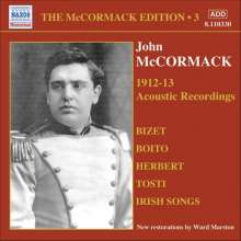 John McCormack-Edition Vol.3/The Acoustic Recordings 1912/13, CD