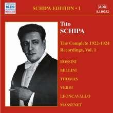 Tito Schipa Edition Vol.1, CD