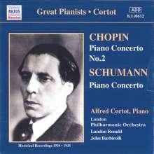 Alfred Cortot spielt Klavierkonzerte, CD