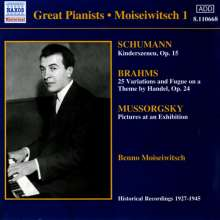 Benno Moiseiwitsch,Klavier Vol.1, CD