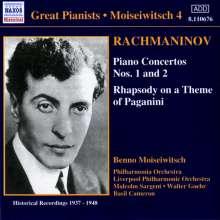 Sergej Rachmaninoff (1873-1943): Klavierkonzerte Nr.1 & 2, CD