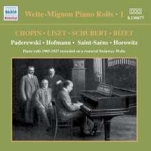 Welte-Mignon - Piano Rolls Vol.1 1905-1927, CD