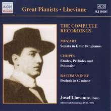 Josef Lhevinne,Klavier, CD
