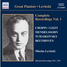 Mischa Levitzki - Complete Recordings Vol.1, CD