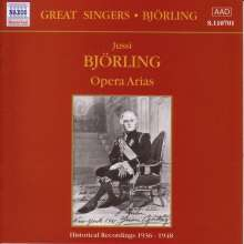 Jussi Björling - Opera Arias, CD