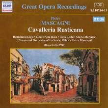 Pietro Mascagni (1863-1945): Cavalleria Rusticana, 2 CDs
