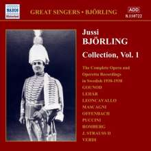 Jussi Björling - Collection Vol.1, CD