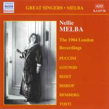 Nellie Melba - The 1904 London Recordings Vol.2, CD