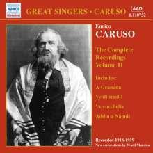 Enrico Caruso:The Complete Recordings Vol.11, CD
