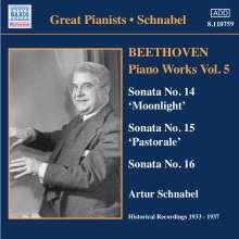 Ludwig van Beethoven (1770-1827): Klaviersonaten Nr.14-16, CD