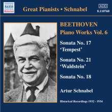 Ludwig van Beethoven (1770-1827): Klaviersonaten Nr.17,18,21, CD