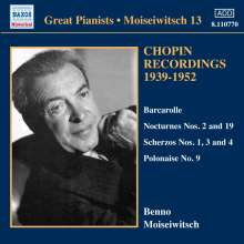 Benno Moiseiwitsch - Chopin Recordings Vol.3, CD