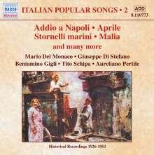 Italian Popular Songs Vol.2, CD