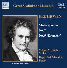 Ludwig van Beethoven (1770-1827): Violinsonaten Nr.7 & 9, CD