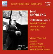 Jussi Bjorling - Swedish National Romantic Songs, CD