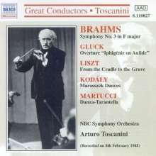 Johannes Brahms (1833-1897): Symphonie Nr.3, CD