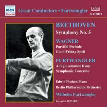 Wilhelm Furtwängler dirigiert die Berliner Philharmoniker, CD
