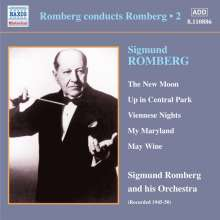Sigmund Romberg (1887-1951): Romberg conducts Romberg Vol.2, CD