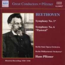 Ludwig van Beethoven (1770-1827): Symphonien Nr.1 & 6, CD