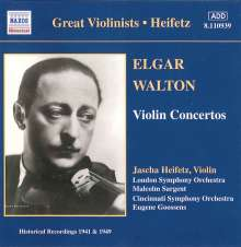 Jascha Heifetz - The Great Violinist I, CD