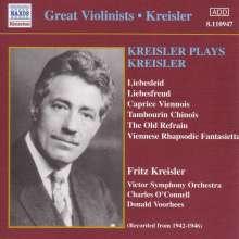 Fritz Kreisler (1875-1962): Werke für Violine & Orchester, CD