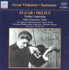 Albert Sammons spielt Violinkonzerte, CD