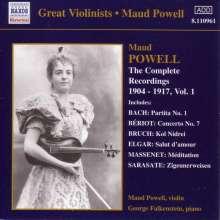 Maud Powell - Sämtliche Aufnahmen Vol.1, CD