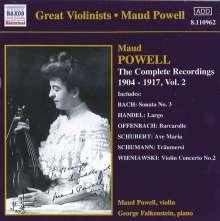 Maud Powell - Sämtliche Aufnahmen Vol.2, CD