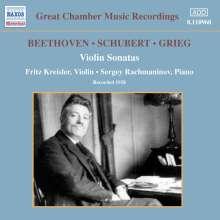 Fritz Kreisler & Sergej Rachmaninoff, CD