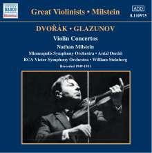 Nathan Milstein spielt Violinkonzerte, CD