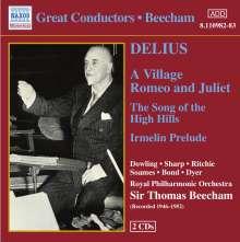 Frederick Delius (1862-1934): Orchesterwerke, 2 CDs