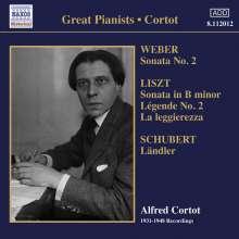 Alfred Cortot - 1931-1948 Recordings, CD