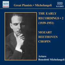 Arturo Benedetti Michelangeli - The Early Recordings Vol.2, CD