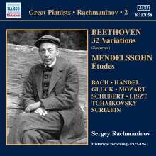 Sergej Rachmaninoff Vol.2, CD
