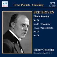 Ludwig van Beethoven (1770-1827): Klaviersonaten Nr.20,21,23,28,30, CD