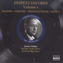 Jascha Heifetz - Encores Vol.1, CD