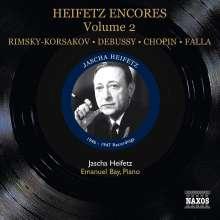 Jascha Heifetz - Encores Vol.2, CD