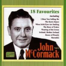 John McCormack: 18 Favourites, CD
