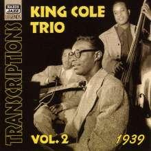 Nat King Cole (1919-1965): King Cole Trio Transcriptions Vol.2, CD