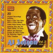 Al Jolson: Complete Recordings Vol. 2, CD