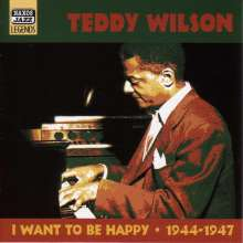 Teddy Wilson (1912-1986): I Want To Be Happy, CD