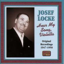 Josef Locke: Hear My Song, Violetta, CD