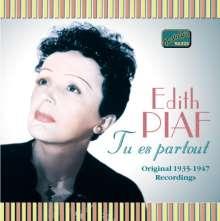 Edith Piaf (1915-1963): Tu Es Partout, CD
