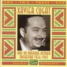 Xavier Cugat (1900-1990): One,Two,Three,Kick - Originalaufnahmen 1933 - 1942, CD